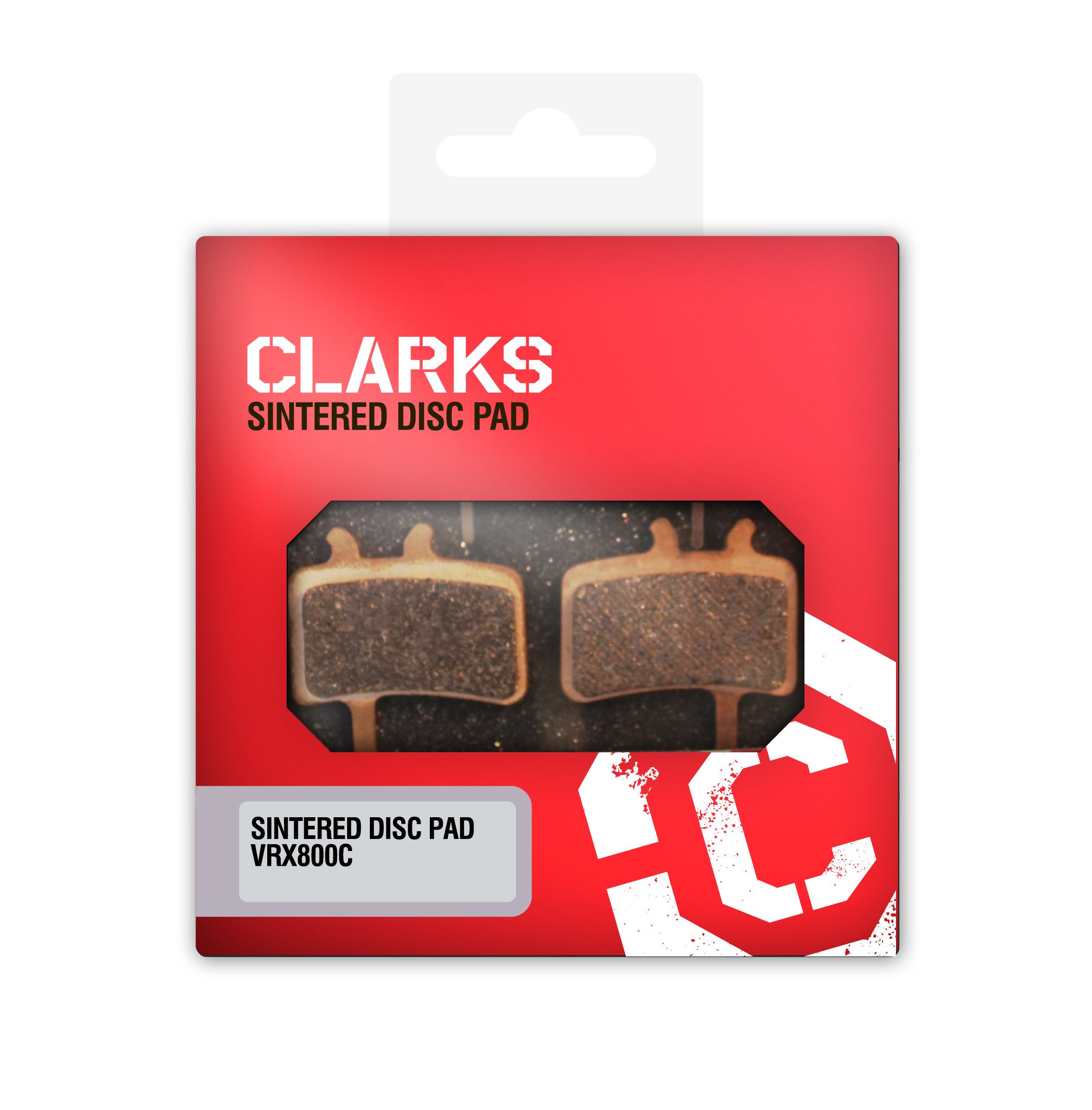 Clarks VRX 813C-disc-pad-sintered